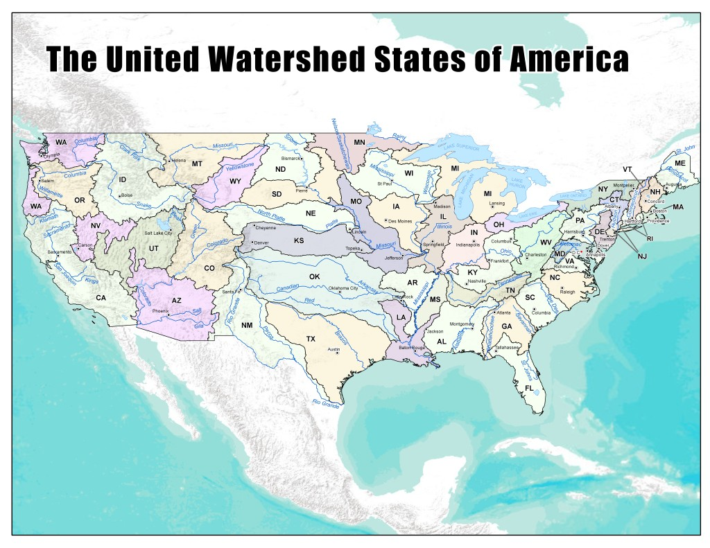 28 United Watershed States of America